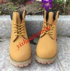 Women's Round Toe High Top Combat Boots Military Lace Up Ankle Boots Work Shoes