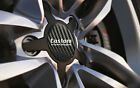 Alloy Wheel Centre Cap Stickers BLACK CARBON Fit 36mm-90mm With or Without Logo