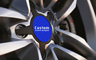 Universal Car Alloy Wheel Centre Cap Badges Blue Fit ALL Sizes 36mm to 90mm