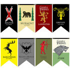 Game of Thrones Hanging Banner Flag Stark Tarly Lannister Party Home Decor