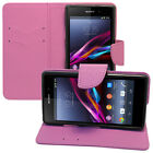 Cases for Sony Xperia Z1 L39h C6902 Phone Briefcase Plastic TPU Case