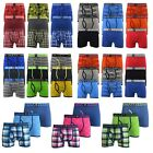 Mens Boxers Crosshatch Shorts Various 3PK Trunks Underwear Gift Set 3 Pack S-XXL