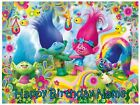 EDIBLE IMAGE TROLLS ICING SUGER SHEET TOPPER PARTY DECORATIONS CAKE OR CUPCAKES