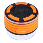 Chic New Waterproof IPX7 Bluetooth Durable Portable LED Colorful Light SpeakerRF