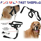 Pet Dog Halter Head Training Collar Pulling Gently Lead Leash Black M L XL