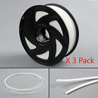 3 Pack 3D Printer Filament 1.75mm 1KG ABS PLA Color For Print MakerBot RepRap E2