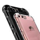 360° Shockproof Transparent Silicone Soft TPU Case Cover For Huawei P10 Honor 9