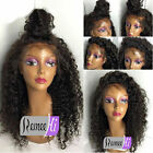 100% Brazilian Remy Human Hair Deep Curly Lace Full/Front Lace Wigs Glueless