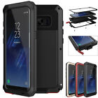 Samsung Galaxy Note 8 S8 Plus Luxury Armor Metal Aluminum Hybrid Shockproof Case