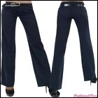 Sexy Women's Pants Office Ladies Trousers Bootcut without Belt Size S UK 8 EU 36
