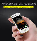 """World smallest 2.4"""" Android 5.1 Unlocked smartphone GSM Quad Band Mini Cellphone"""