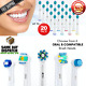 8/20 Pcs Electric Toothbrush Replacement Precision Brush Heads For Oral B Braun