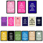 Funny Keep Calm cover case for Apple iPad - G19