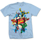 Marvel T-Shirt Marvel Comics Character Montage Print Great Gift for any fan