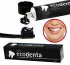 Black Charcoal Whitening Toothpaste Ecodenta 100ml Ecologic Natural Mint Teavigo