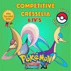 Pokémon ORAS / XY – COMPETITIVE CRESSELIA 6IV's Shiny/No Shiny