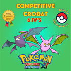Pokémon ORAS / XY – COMPETITIVE CROBAT 6IV's Shiny / No Shiny