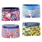4-pack Underpants bulge pouch men boxers briefs
