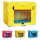 Winter Warm Pet Dog Crate Cage Kennel Cover Breathable Indoor Outdoor Windproof