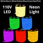 110V LED Pliable Neon Rope Strip Light Valentine Home Party Decor Out of doors Soft