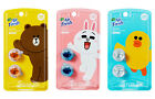 LINE Friends Car Clip Air Freshener Refill Vent Fragrances BROWN, CONY, SALLY