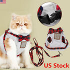 Pet Control Harness And Leash Collar Dog Cat Lattice Mesh Strap Vest Soft Chest