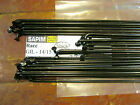 SAPIM RACE Black Spokes 2.0/1.8mm Dbl Butted *Any Qty**Any Length* Belg Made NEW