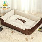 Pet Bed Mat Soft Dog Cat Cushion Warm Puppy Kennel House Pad Cozy Blanket Crate