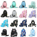 Fashion Women Canvas School Bag Girls Backpack Travel Rucksack Shoulder Bags Lot