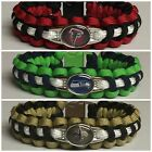 NFL Inspired Paracord Survival Bracelet * 32 teams * Beautifully Hand Crafted!