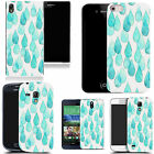 pattern case cover for many Mobile phones aqua raindrops