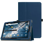 For AT&T Primetime 10 inch 2017 Android Tablet Folio Case Cover Stand Sleep/Wake