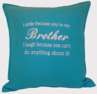 Merry Christmas Personalised brother Xmas gift Sofa Bed Car Home Decor cushion