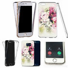 Shockproof 360° Silicone Clear case cover for many mobiles - design ref zx1205