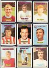 A&BC Footballers (orange back) 1970 1st series - choose your card (1-47) UPDATED