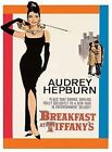 BREAKFAST AT TIFFANY'S AUDREY HEPBURN SIGN METAL PLAQUE VINTAGE NOSTALGIC 455