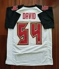 LaVonte David Autographed Signed Jersey Tampa Bay Buccaneers JSA