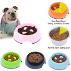 Pet Dogs Cats Melamine Feeding Food Bowl Non-skid Slow Down Eating SuperDesign