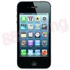 UNLOCKED APPLE iPHONE 4 / 4S SMARTPHONE MOBILE PHONE iOS GOOD WORKING CONDITION