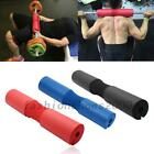 Foam Padded Barbells Bar Cover Pad Strength Training Back Support Fitness