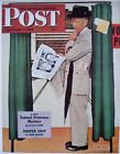 VTG Norman Rockwell Print WWII Saturday Evening Post Cover 11