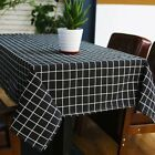 Table Linen Country Style Cloth Plaid Print Napkins Hand Kitchen Decoration New