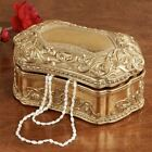 Sondraly Covered Box Gold