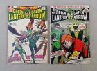 GREEN LANTERN GREEN ARROW Nos 82 and 85 - Famous Drug issue!