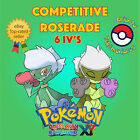 Pokémon ORAS / XY – COMPETITIVE ROSERADE 6IV's Shiny / No Shiny