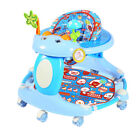 New Baby Walker First Steps Walker With Sounds Lights Music Toy Foldable Walker