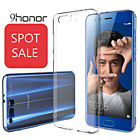 For Huawei Honor 9  Durable Ultra-Slim Clear Cover Case & Premium Tempered Glass
