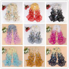 Womens Chiffon Butterfly ladies scarf shawl Wraps Cape sun-proof Tippet