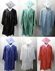 new-graduation-cap-and-gown-shiny-various-colors-and-sizes-zipper-front