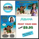 MOANA PERSONALISED BIRTHDAY PARTY INVITATIONS - PARTY ITEMS - PRINT YOUR OWN